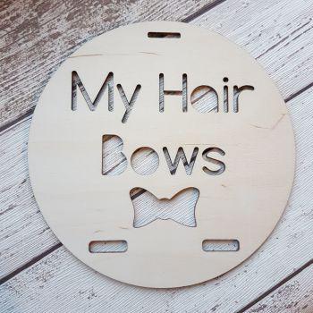 My Hair Bows Ribbon Hanger - Circular - 0455
