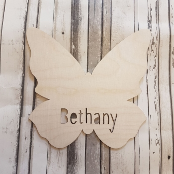 Butterfly Name Plaque - 0465