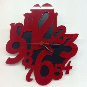 Laser Cut Acrylic Clock - 0141