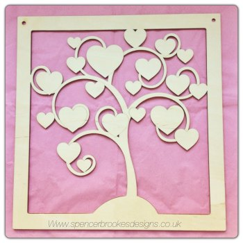 Family Tree Hanger - Blank - 0006
