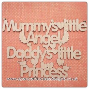 Mummy's Angel and Daddy's Princess
