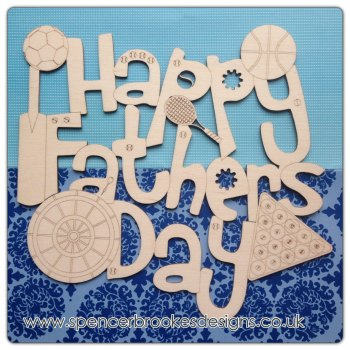 Happy Father's Day Plaque - 0096