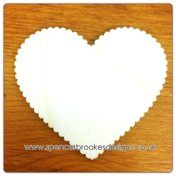 Heart - Scalloped (More Scallops) - 0049