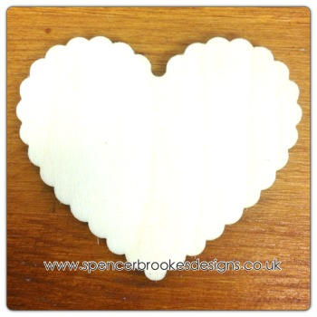 Heart - Scalloped (Fewer Scallops) - 0048