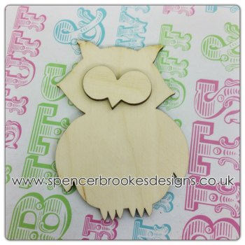 Terry - 3D 4cm Owl - 0244