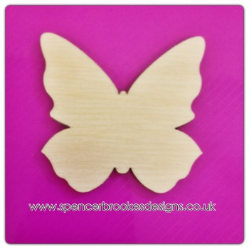 Butterfly - Traditional Shape 0019