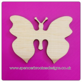 Butterfly - Quirky Shape 0017