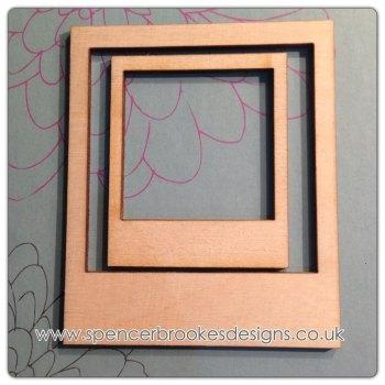 Polaroid - Laser Cut Polaroid Frame - 0034