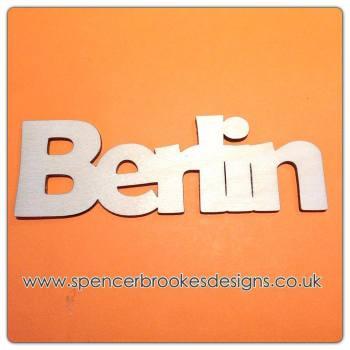 Berlin - Laser Cut Letters / Chains