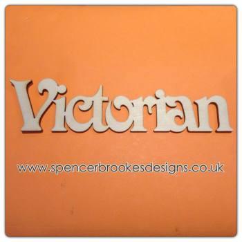 Victorian - Laser Cut Letters / Chains