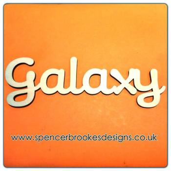 Galaxy - Laser Cut Letters / Chains