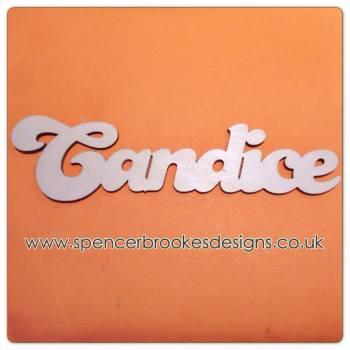 Candice - Laser Cut Letters / Chains