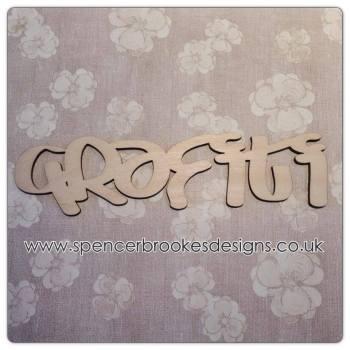 Grafiti - Laser Cut Letters / Chains