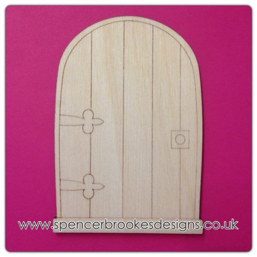 Laser cut wooden shapes and craft shapes laser cut fairy for Fairy door shapes