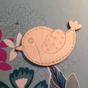 Beautiful Bird with Stitch Details - 0164