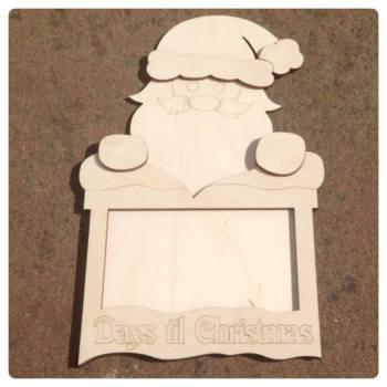 Santa Countdown - Santa in the Chimney - 0124