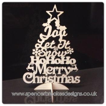 Christmas Words Tree - 0181