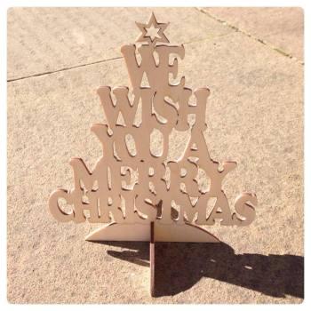 We Wish You A Merry Christmas Tree - 0182