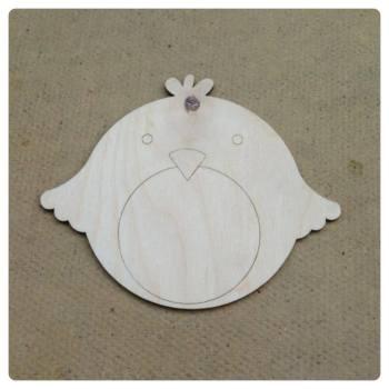 Chubby Little Robbin Shape Decoration - 0101