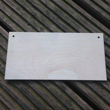 2x Laser Cut Blank Plaques - 0204