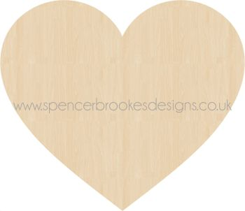 Laser Cut Hearts - Engraved