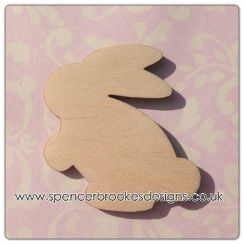 Laser Cut Easter Bunny Rabbit 0020