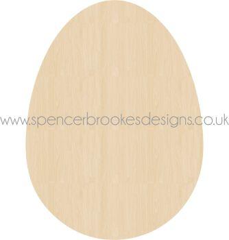 Laser Cut Easter Egg - Blank