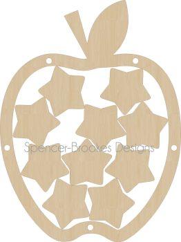 Rewards Chart - Apple Shape - Teacher Rewards