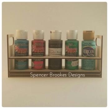 Acrylic Paints Holder