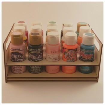 15 Acrylic Paints Holder