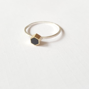 Geometric Stacking Rings