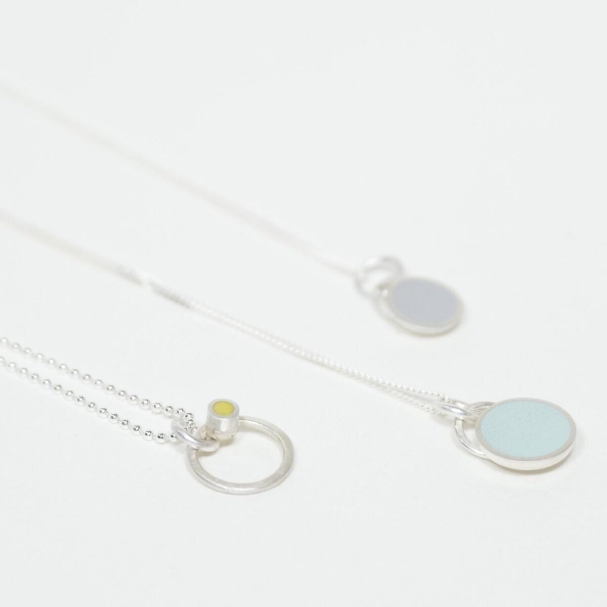 Small Colour Dot Pendant necklaces by Colour Designs Jewellery