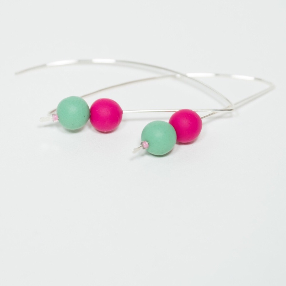 Colourful Long Earrings