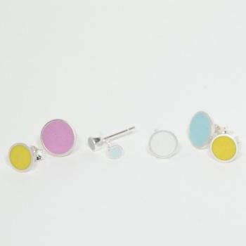 Tiny Chunky Colour Dot Studs