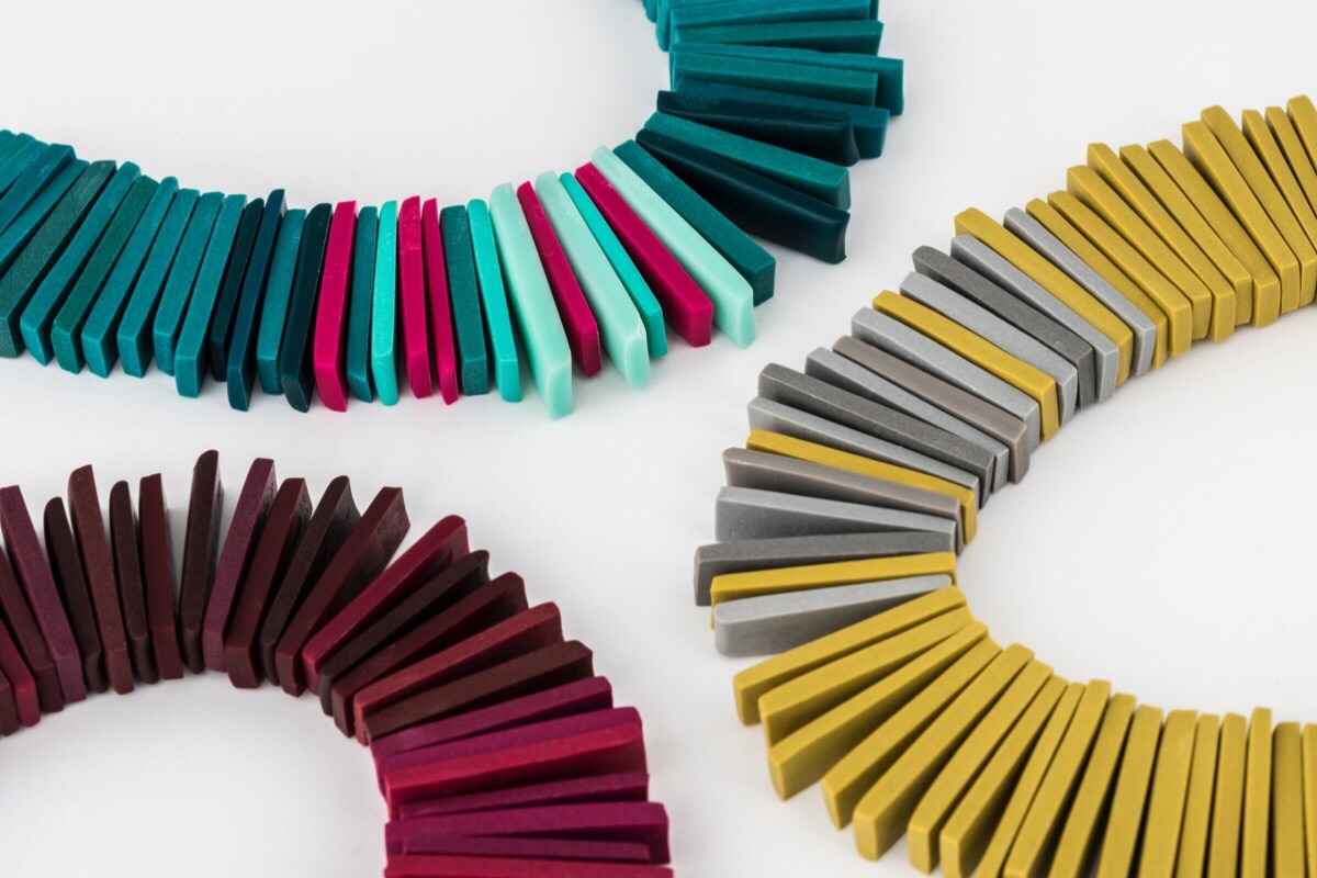 Contemporary Beaded Necklaces handmade jewellery by Colour Designs
