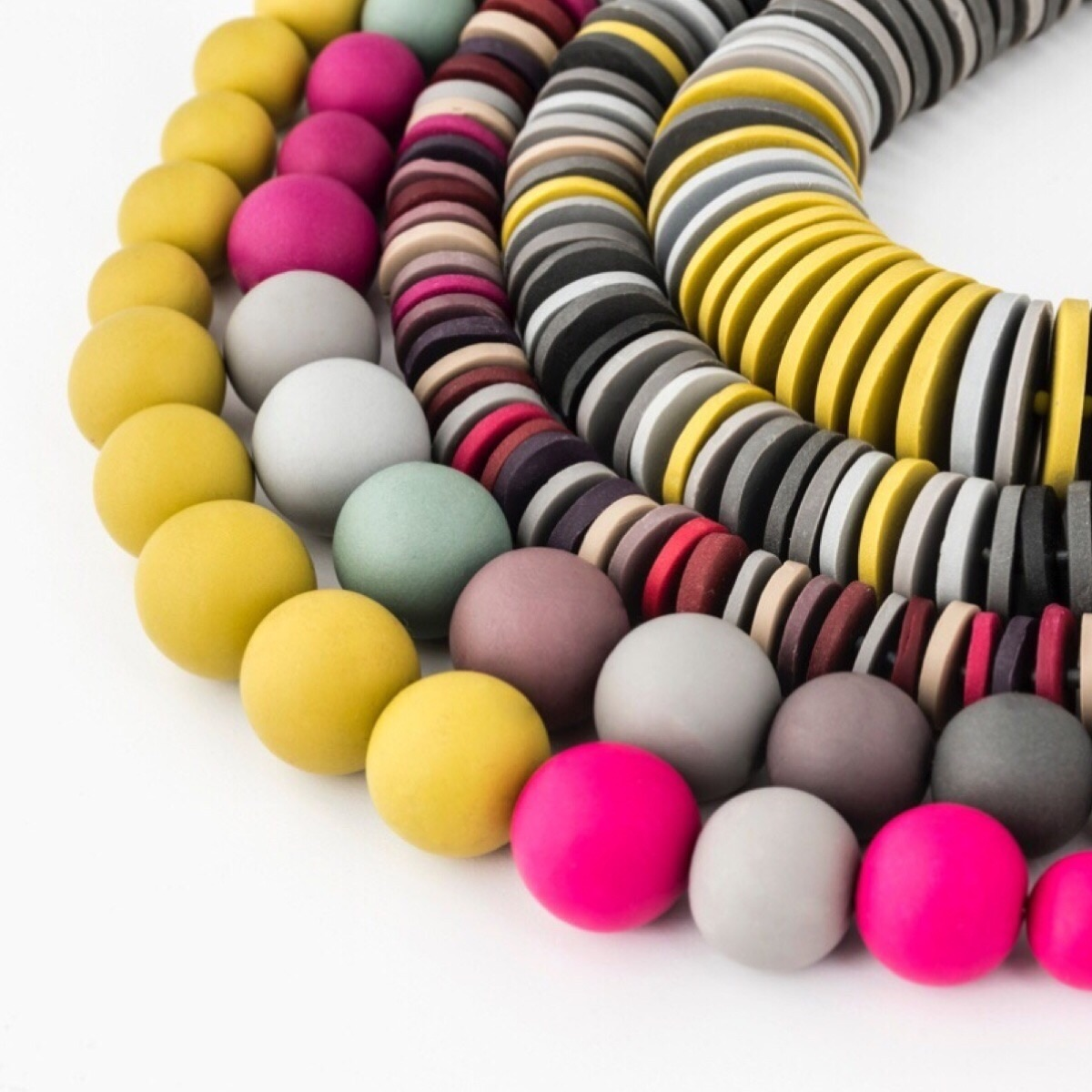 Colour Designs Statement Necklaces