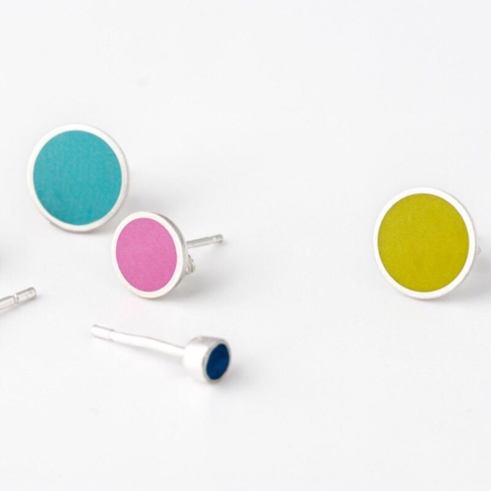 Colourful Stud Earrings