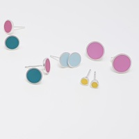 Tiny Chunky Colour Dot Studs