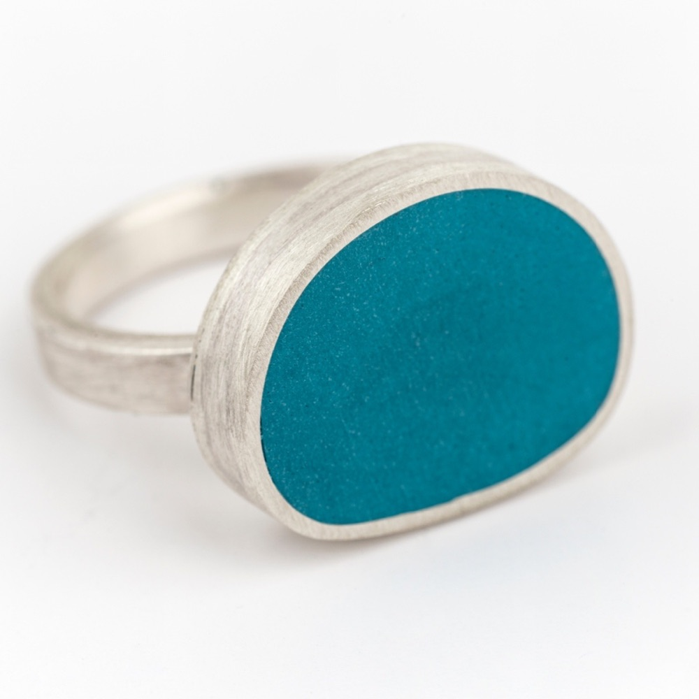 Large Statement One of a Kind Colour Dot Rings