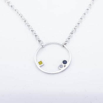 Small Inside Dot Necklace