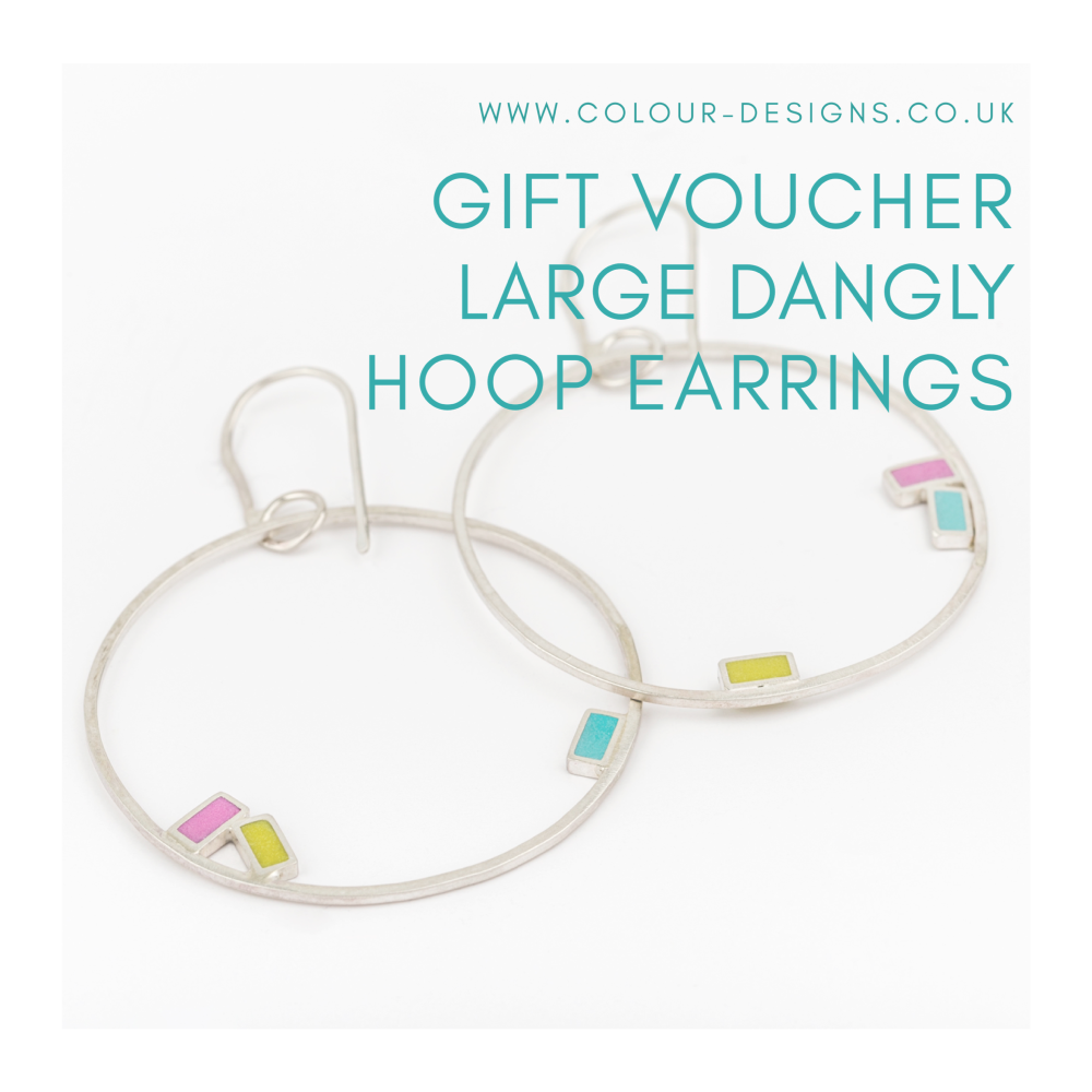 Gift Voucher for Large Dangly Hoop Earrings