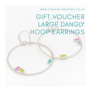 Gift Voucher for Large Dangly Hoop Earrings