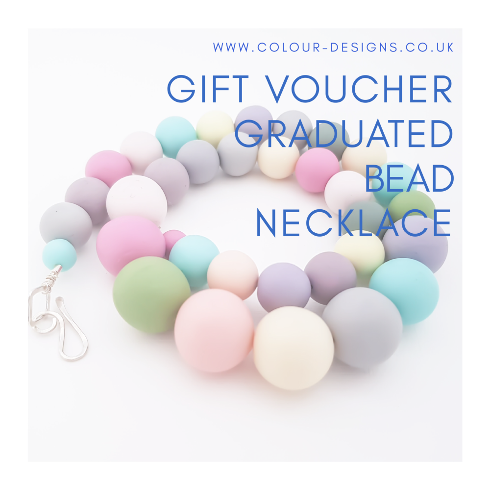 Gift Voucher for Graduated Bead Necklace