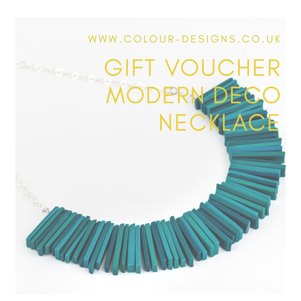 Gift Voucher for Modern Deco Necklace