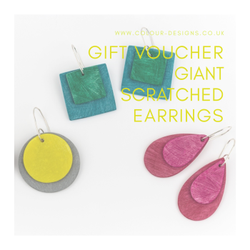 Gift Voucher for Giant Scratched Earrings