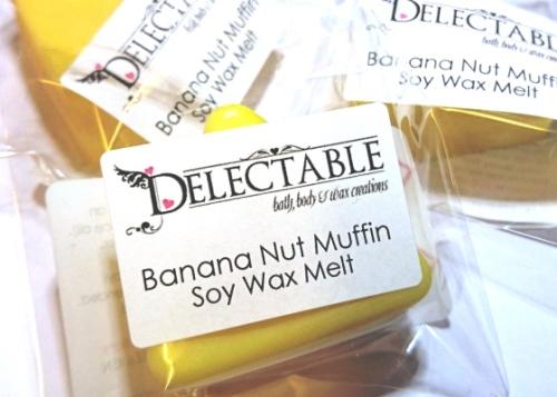 Banana Nut Muffin Soy Wax Melt