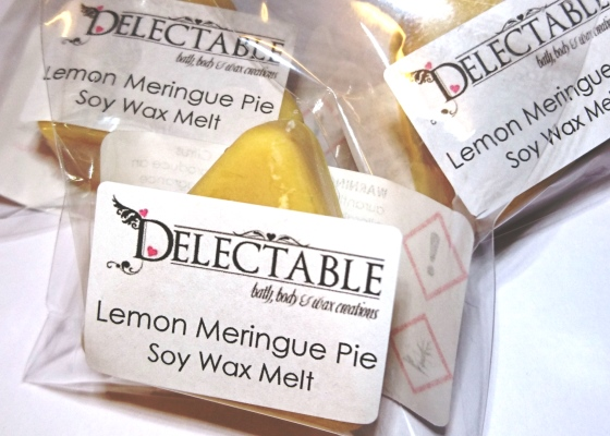 Lemon Meringue Pie Soy Wax Melt