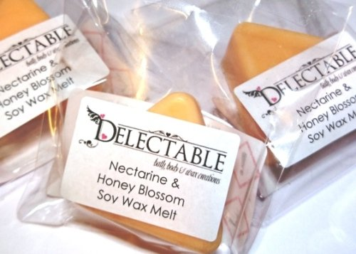 Nectarine & Honey Blossom Soy Wax Melt