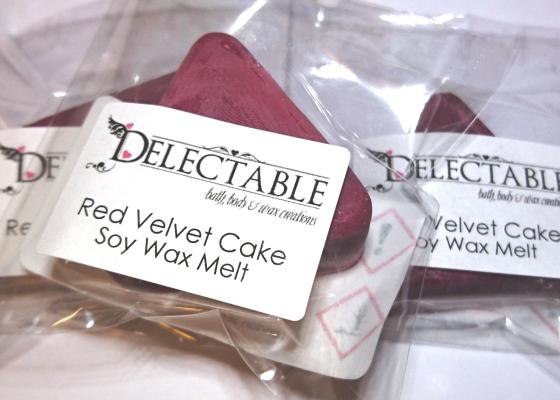 Red Velvet Cake Soy Wax Melt