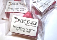Strawberry Passion Soy Wax Melt